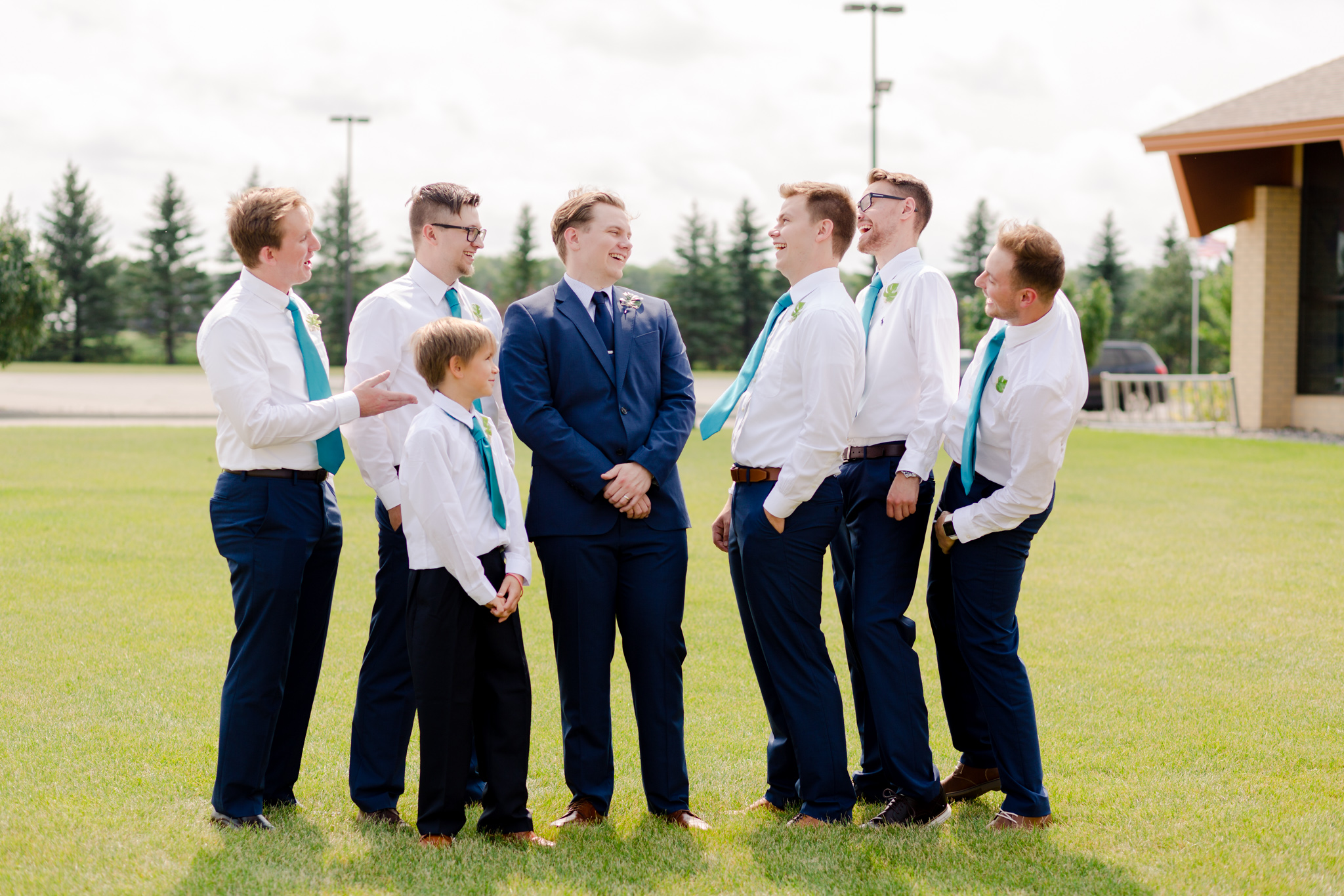 Fargo Moorhead Wedding Photography at Lutheran Church of the Good Shepherd by Chelsea Joy Photography