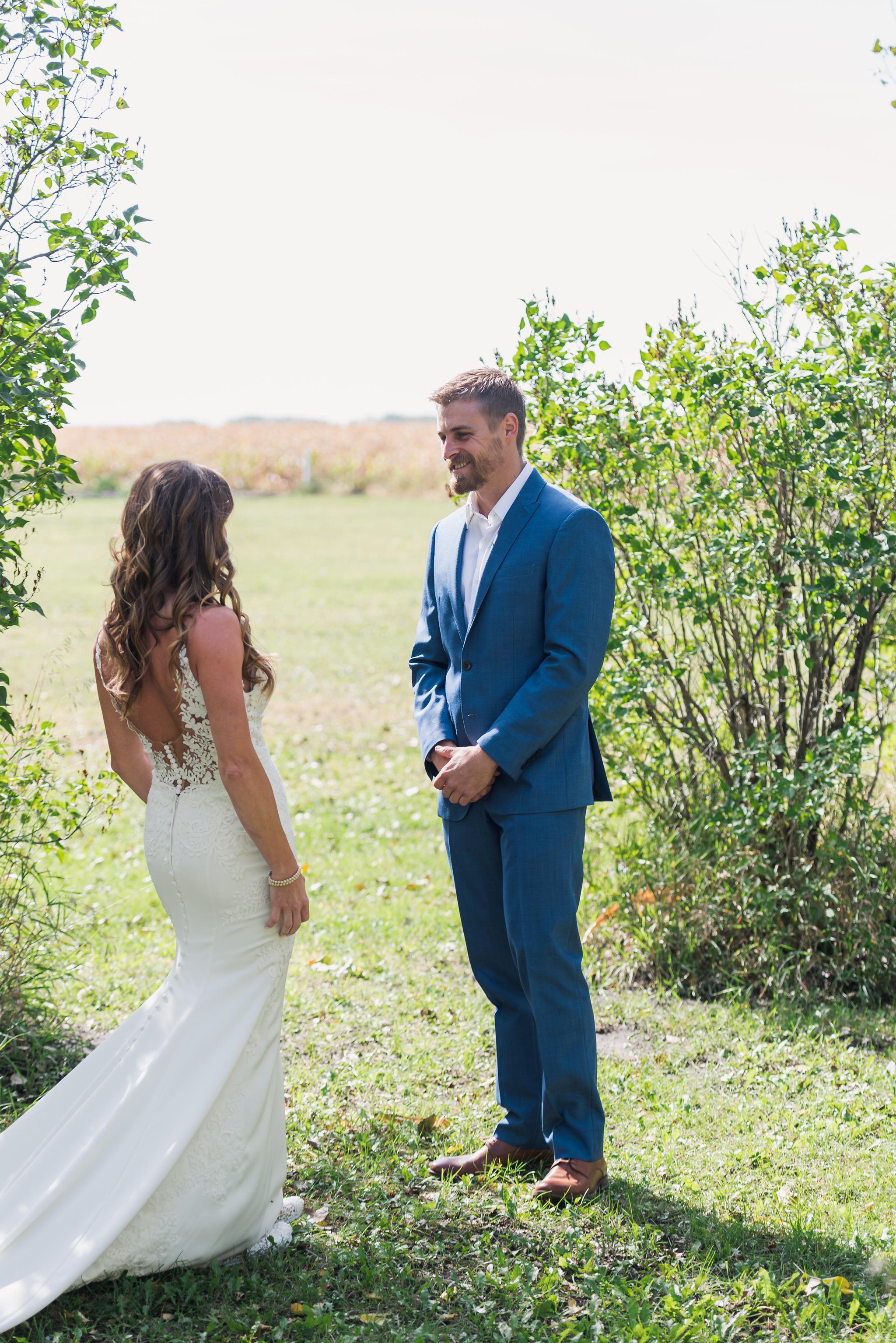 DIY Backyard Wedding | Fargo Wedding Photography by Chelsea Joy Photography