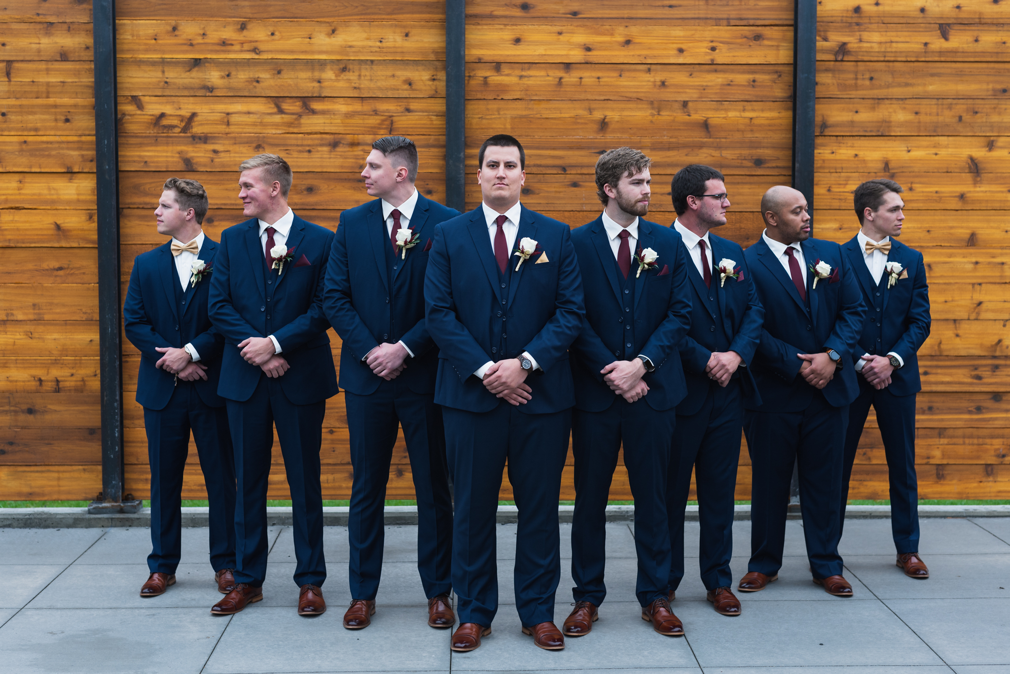 Fall Midwest Wedding | North Dakota Wedding Photography by Chelsea Joy Photography