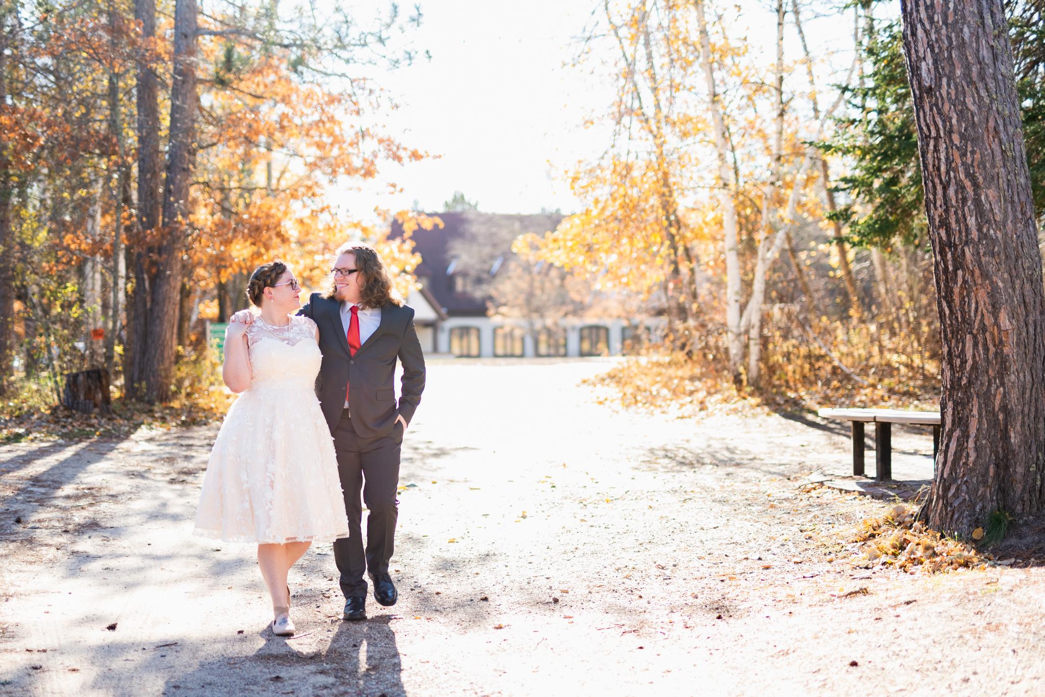 Fall Wedding in Bemidji, MN by Chelsea Joy Photography, Fargo ND Wedding Photographer