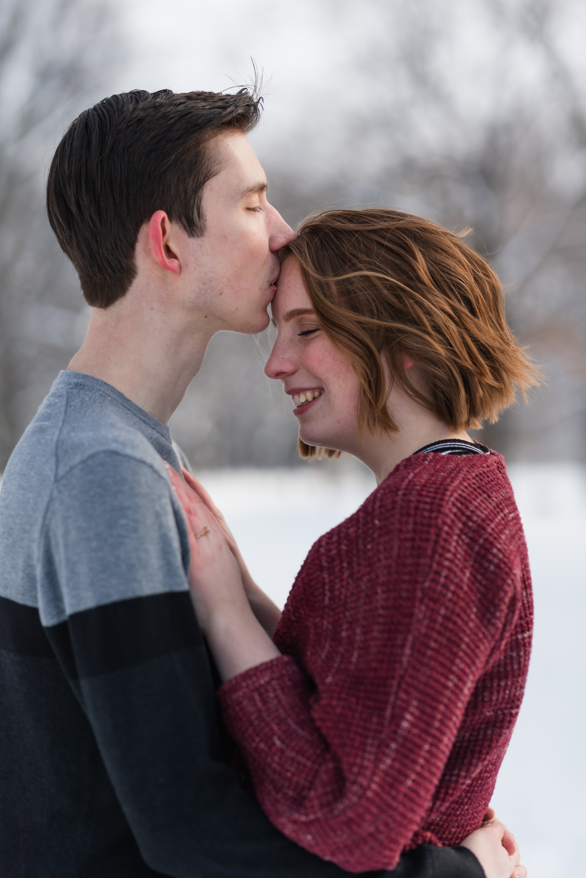 Fargo Island Park Engagement Photos | ND Wedding Photographer