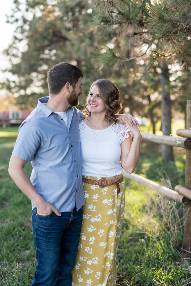 North Dakota Rural Engagement Session | Chelsea Joy Photography