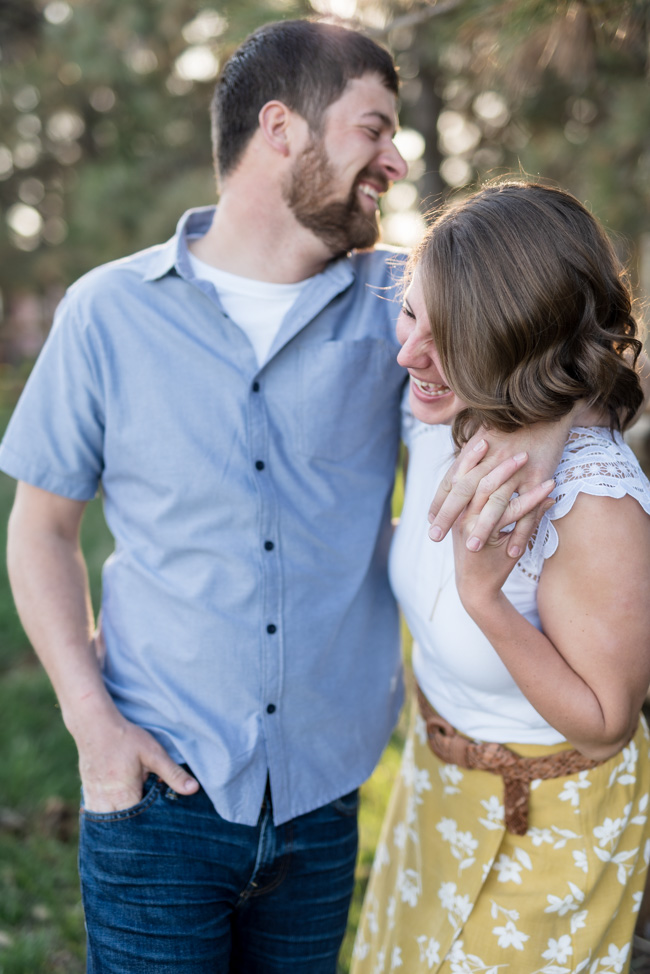 Rural North Dakota Engagement Pictures | Fargo ND Wedding Photographer