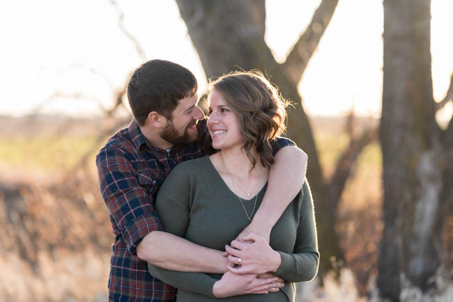 Rural North Dakota Engagement Pictures | Fargo North Dakota Wedding Photographer