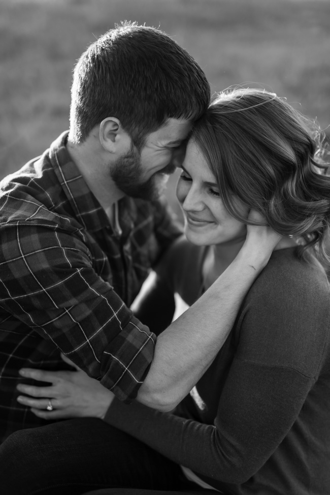 Rural Fargo Engagement Pictures | Fargo Wedding Photographer