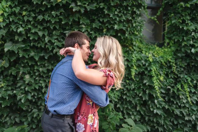 Downtown Fargo Engagement Session | Fargo Wedding Photographer