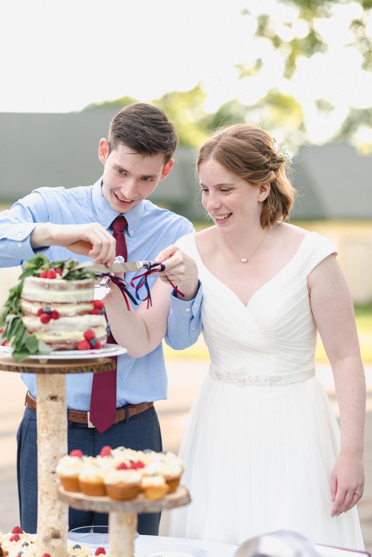 Summer Detroit Lakes Lakeside Wedding   Fargo Wedding Photographer