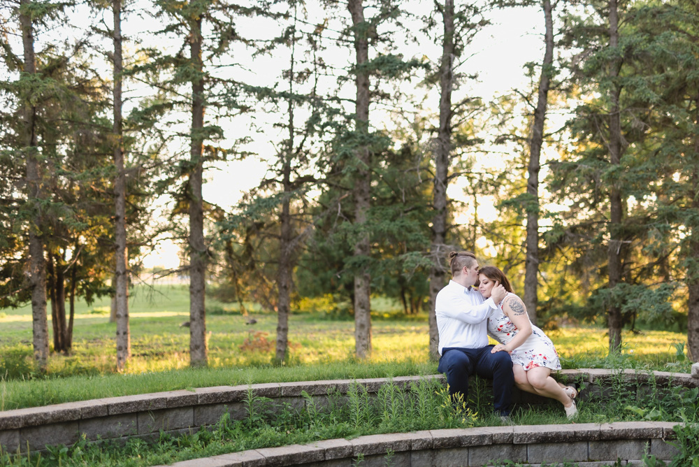 Lions Conservancy Park Engagement Session | F-M Wedding Photographer