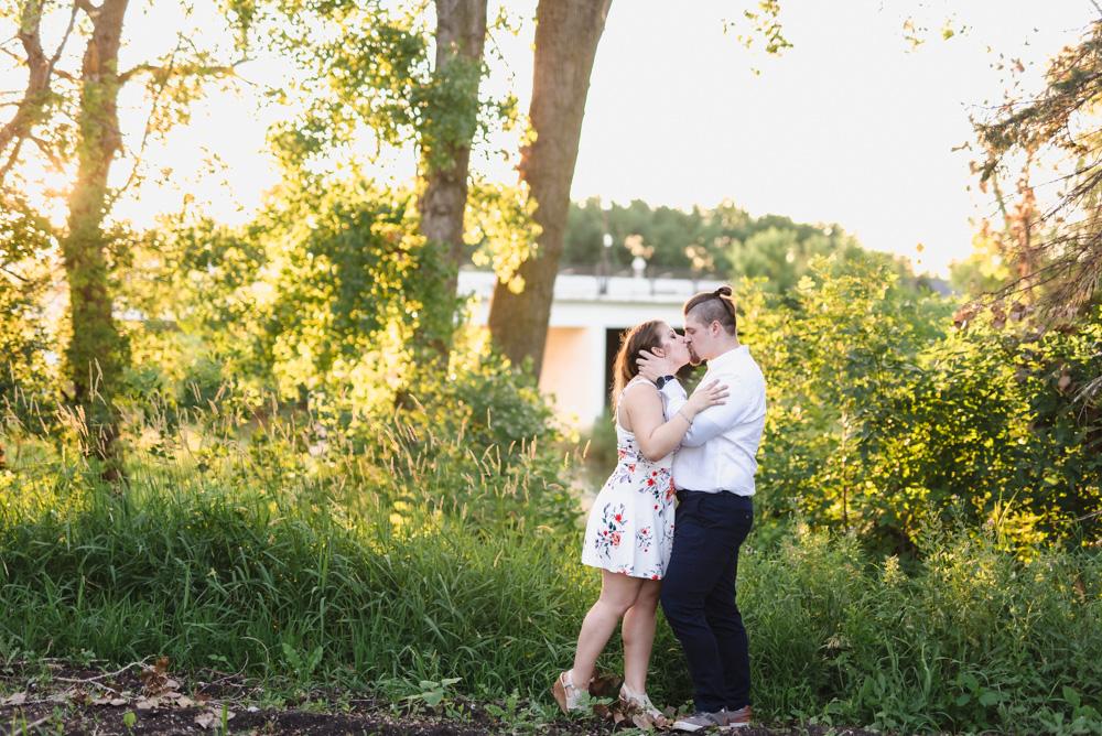 Lions Conservancy Park Engagement Session | Fargo ND Wedding Photographer