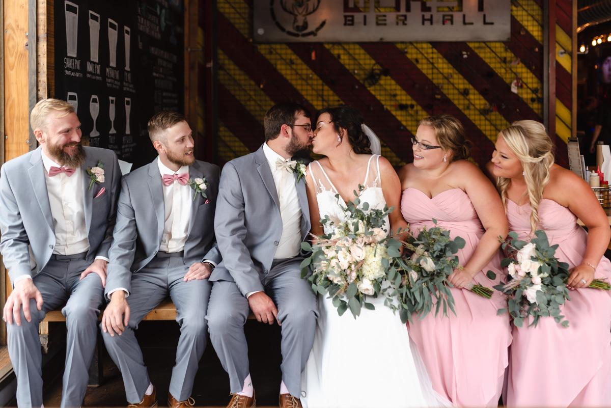 Downtown Fargo Wedding   Fargo Wedding Photographer