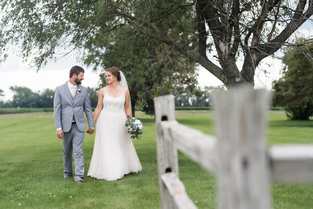 Rustic North Dakota Farmstead Wedding | Chelsea Joy Photography