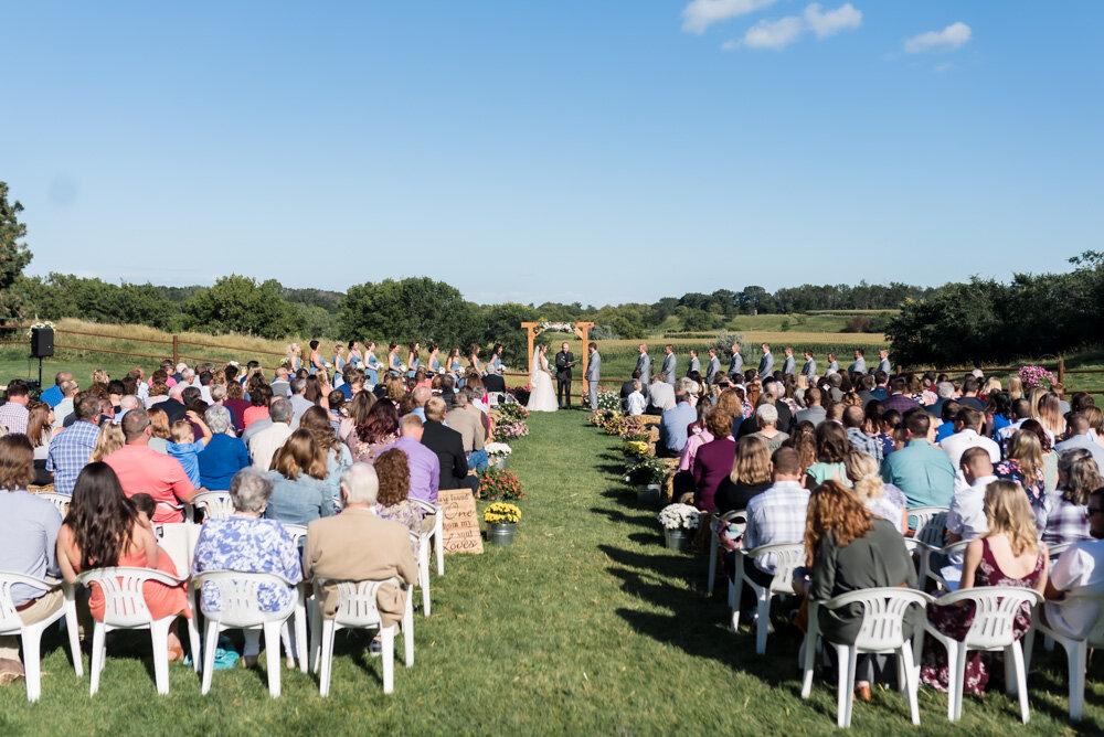 Rustic Farm North Dakota Wedding | Chelsea Joy Photography