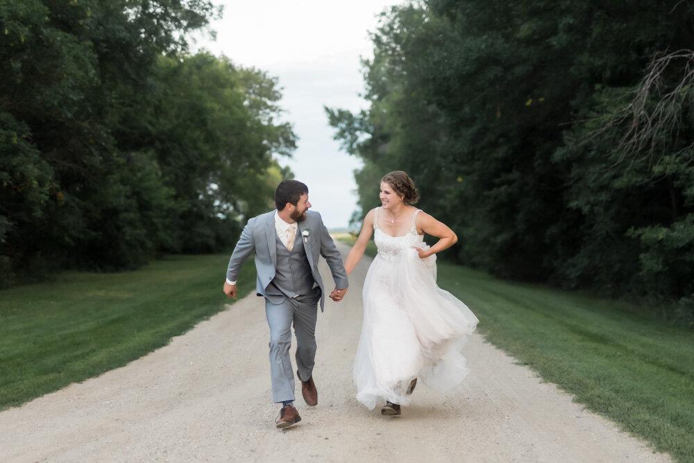 North Dakota Farm Wedding | Chelsea Joy Photography