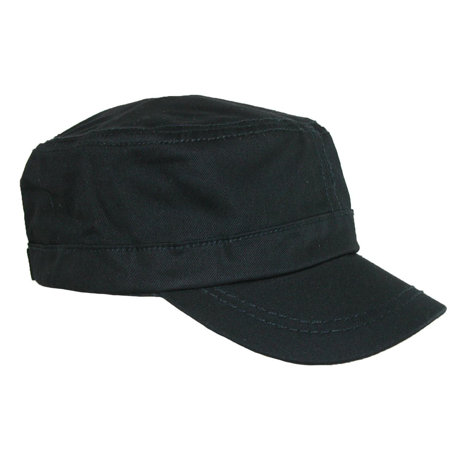Something-Special-Men's-Cotton-Basic-Solid-Military-Cadet-Hat.jpg