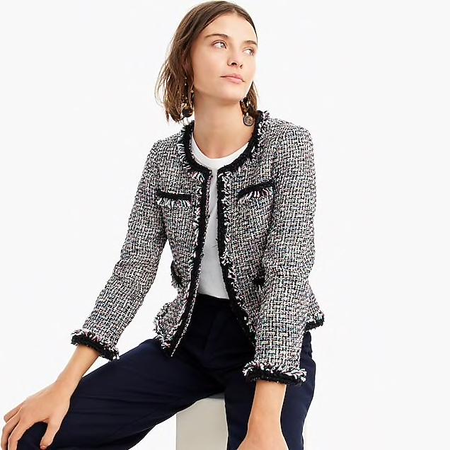 J. Crew - Tweed jacket