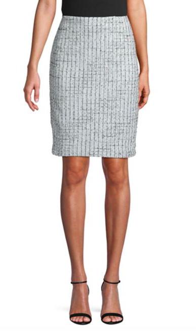 Karl Lagerfeld Paris - Tweed pencil skirt