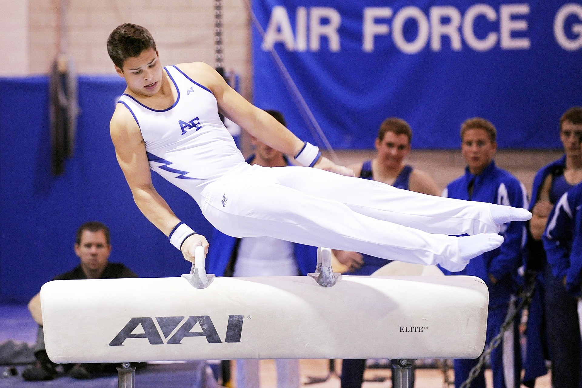 Gymnastics Man on Pommel Horse Folsom
