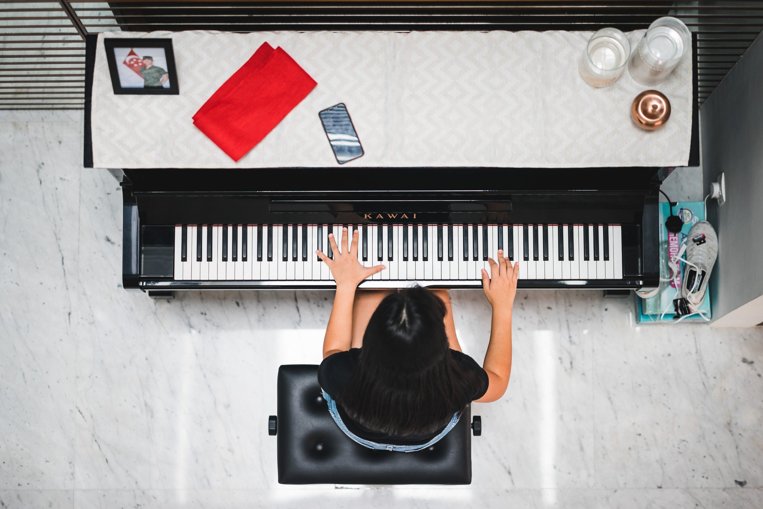 Deliberate Practice at the piano