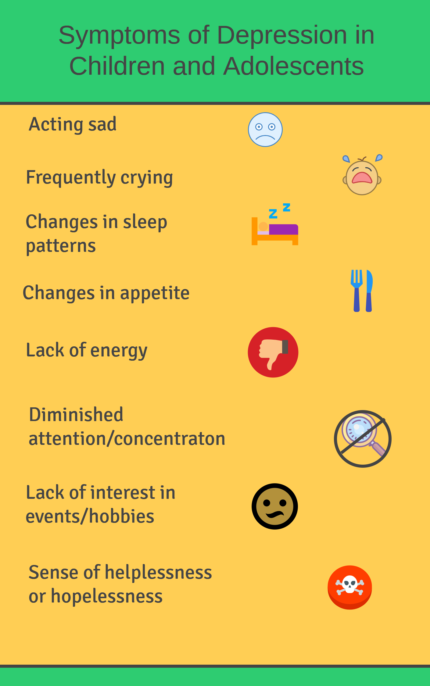 Symptoms of depression in children and adolescents Folsom California