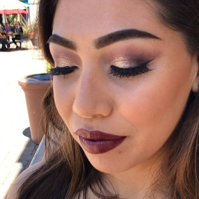 prom makeup by me @terrylimakeup, thank you Dania ❤️ // get ready for some fierce prom looks!! swipe for a goofball aka me lol 😂