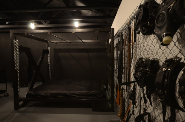 Toys area & Dungeon bed