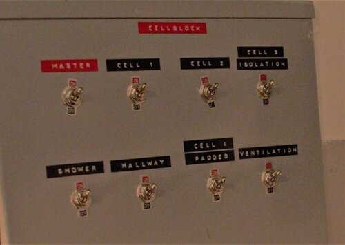 Cell block Control Panel
