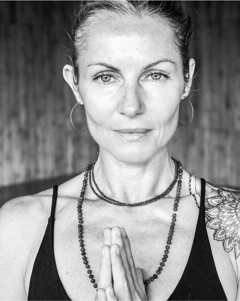 Human Portrait - Sheila's shot of yogi extraordinaire Jyoti Murray