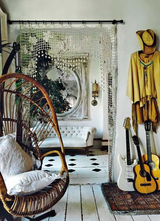 The Boho Room. - Soak up the sunshine.