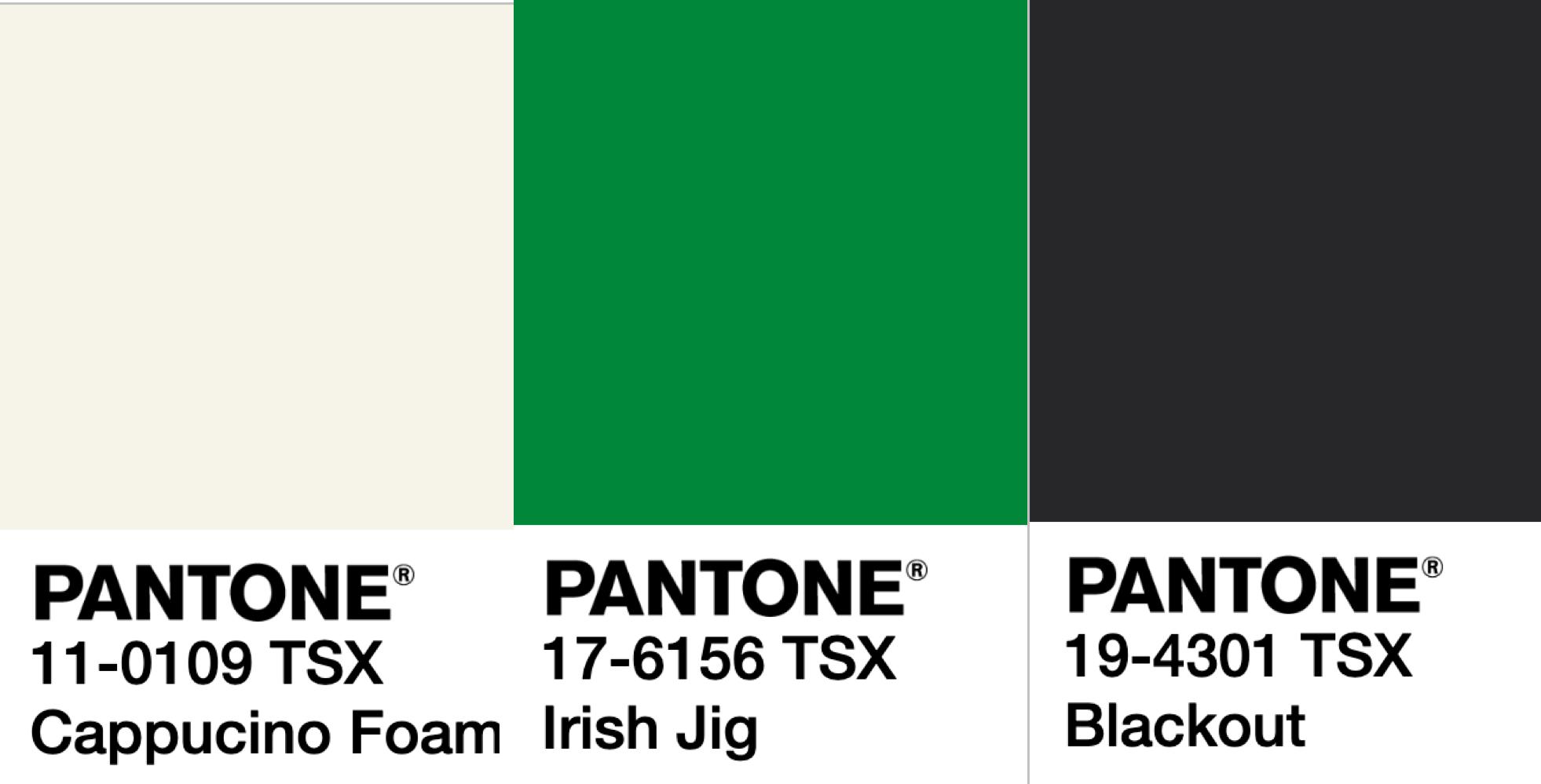 Abandoned High Prime OS V. 1.0 - PANTONE 17-6156 TSX Irish JigPANTONE 19-4301 TSX BlackoutPANTONE 11-0109 TSX Cappuccino Foam