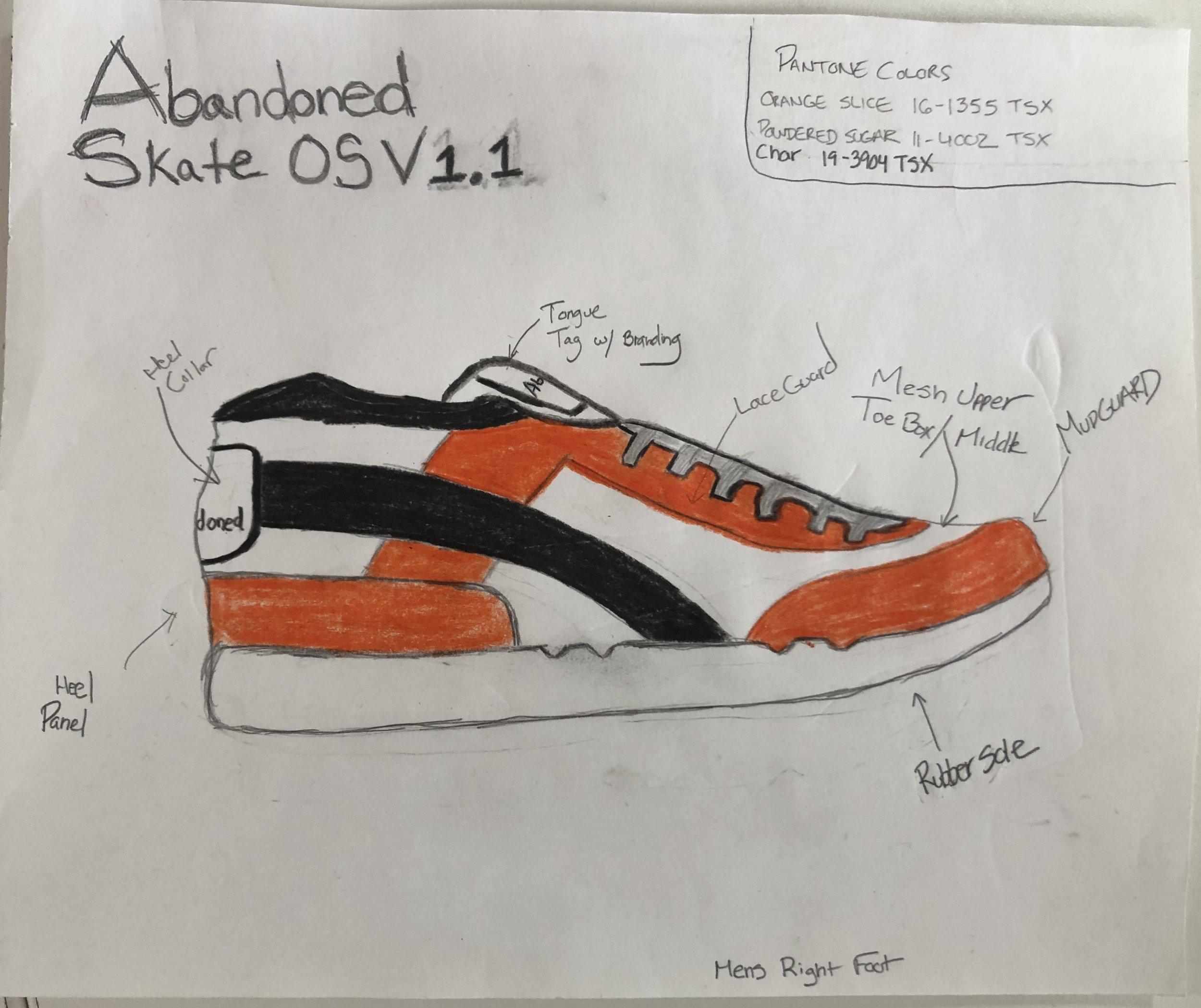 Abandoned Skate OS V. 1.1