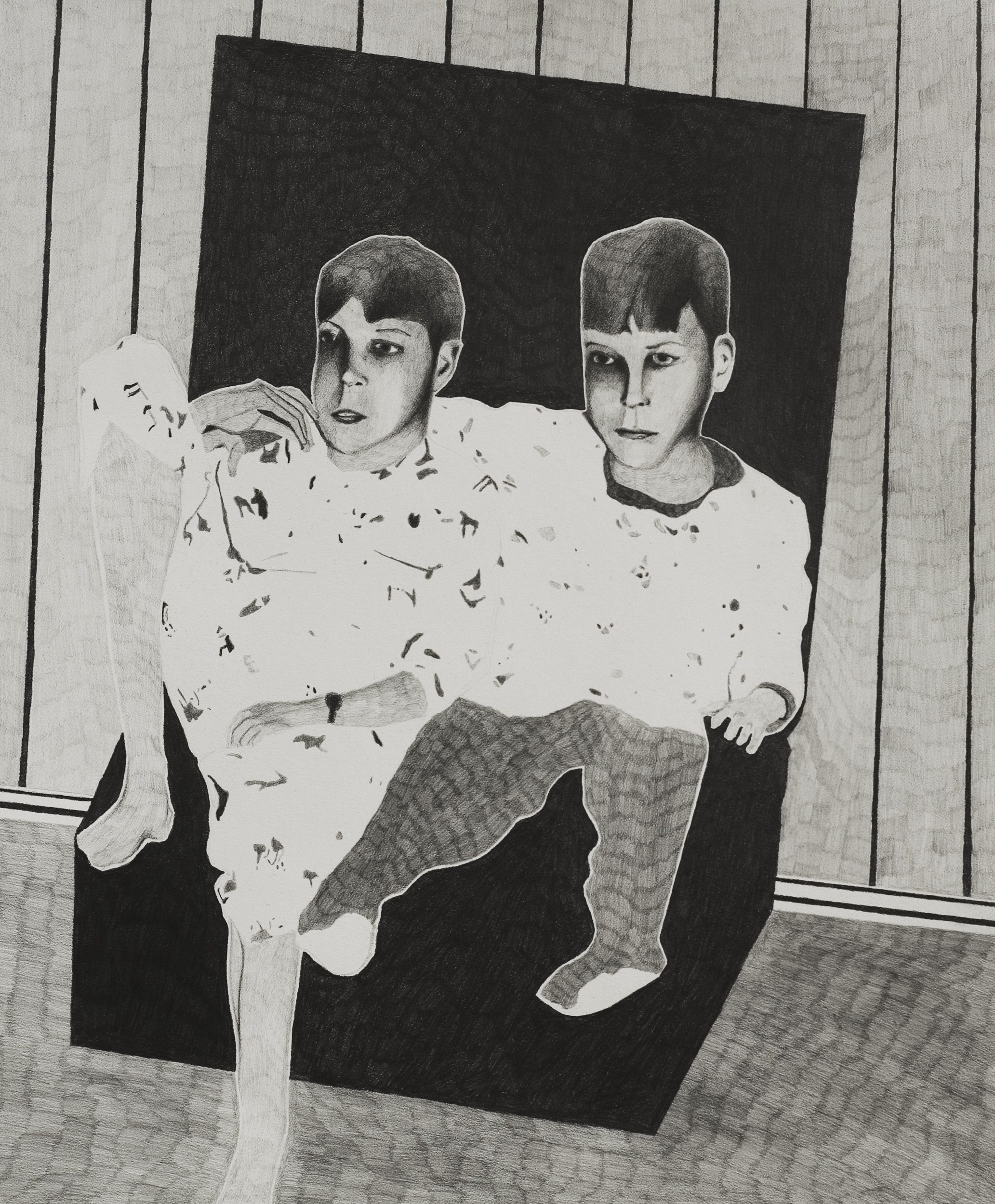 The Living Room / 2014 40x30cm / Pencil on Paper