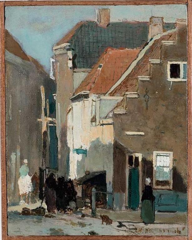 Kazernestraat in Den Haag na restauratie in daglicht