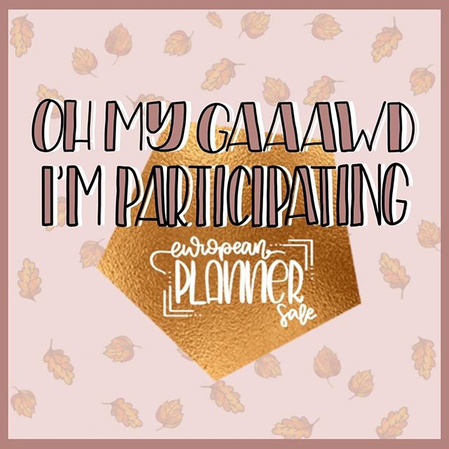 Posting a litttle bit later than planned due to our internet issues but here we go! I'll be participating in the @europeanplannersale at the end of this month! Be sure to go and follow them for all the details 🎉 #Plannergirl #planneraddict #plannersupplies #plannercommunity #plannerstickers #planner #plannergoodies #eclp #erincondren #erincondrenlifeplanner #plannerobsessed #weloveec #lifeplanner #stationery #plannernerd #plannerjunkie #stickeraddict #happymail #etsystickers #etsy #stationeryaddict #stationerylove #filofax