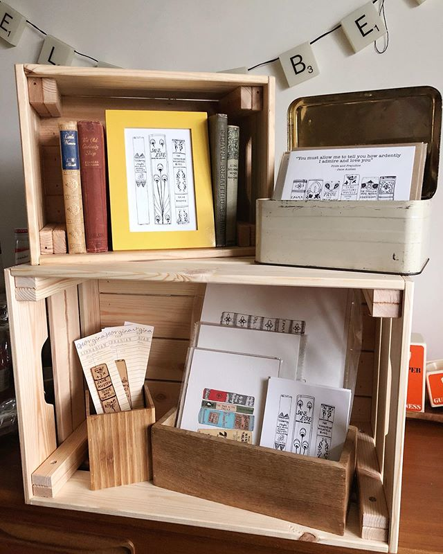 My crate is all ready for the #etsylincscratemarket this weekend at St Marks in Lincoln! There's a lot happening this weekend as I'll also have new releases going up as well as the @europeanplannersale which starts tomorrow! We've also sneakily introduced premium matte paper as an option to our existing listings too so look out for that! It's been a busy month prepping for everything so thank you for being patient.  #Art #artist #illustrator #illustration #painting #watercolour #mixedmedia #sketch #illustratoroninstagram #books #bookstagram #readersofinstagram #classicliterature #plannergirl #planneraddict #plannersupplies #plannercommunity #plannerstickers #planner #plannergoodies #plannerobsessed #stationery #plannernerd  #etsystickers #etsy  #stationerylove