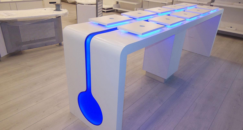 Table display -
