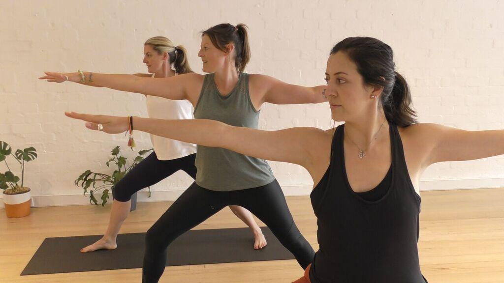 Flow Yoga - WHEN: MONDAY, WEDNESDAY, SATURDAYDuration: 1 hour