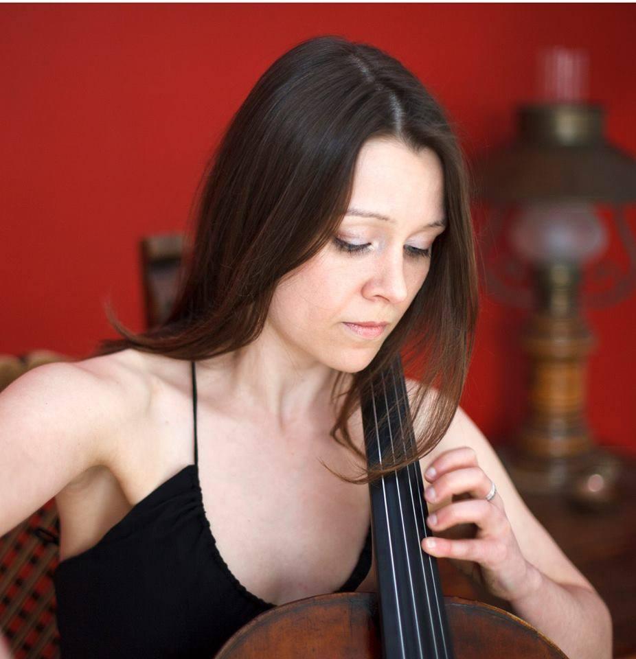 Sarah on the cello!