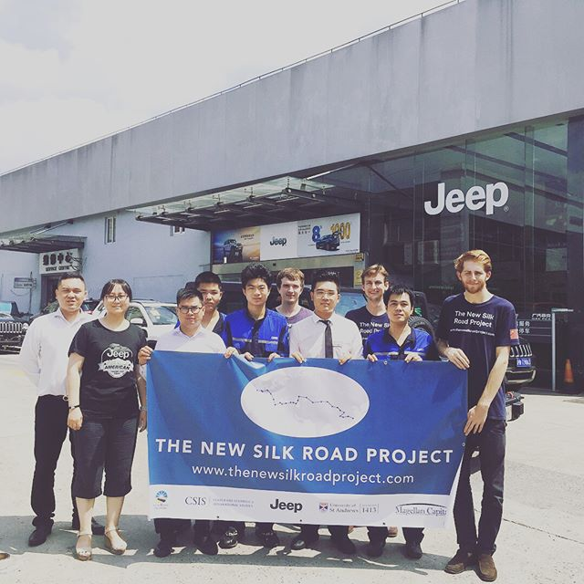 Thank you to one of our core supporters @jeep @fca_group for having us to your Shanghai office to meet your colleagues!