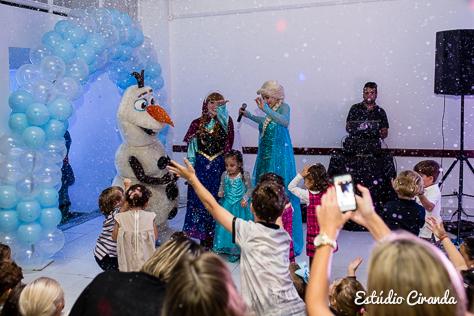 festa infantil frozen irmãos gabriella e bruno