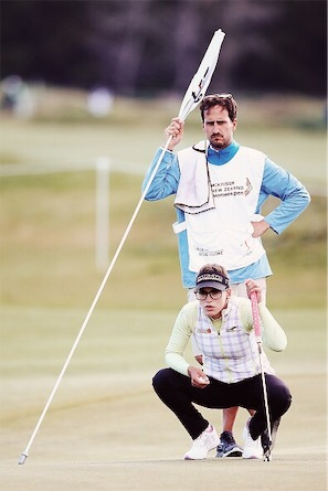 Caddy alignment will speed up the game of golf but will mess up with some players.