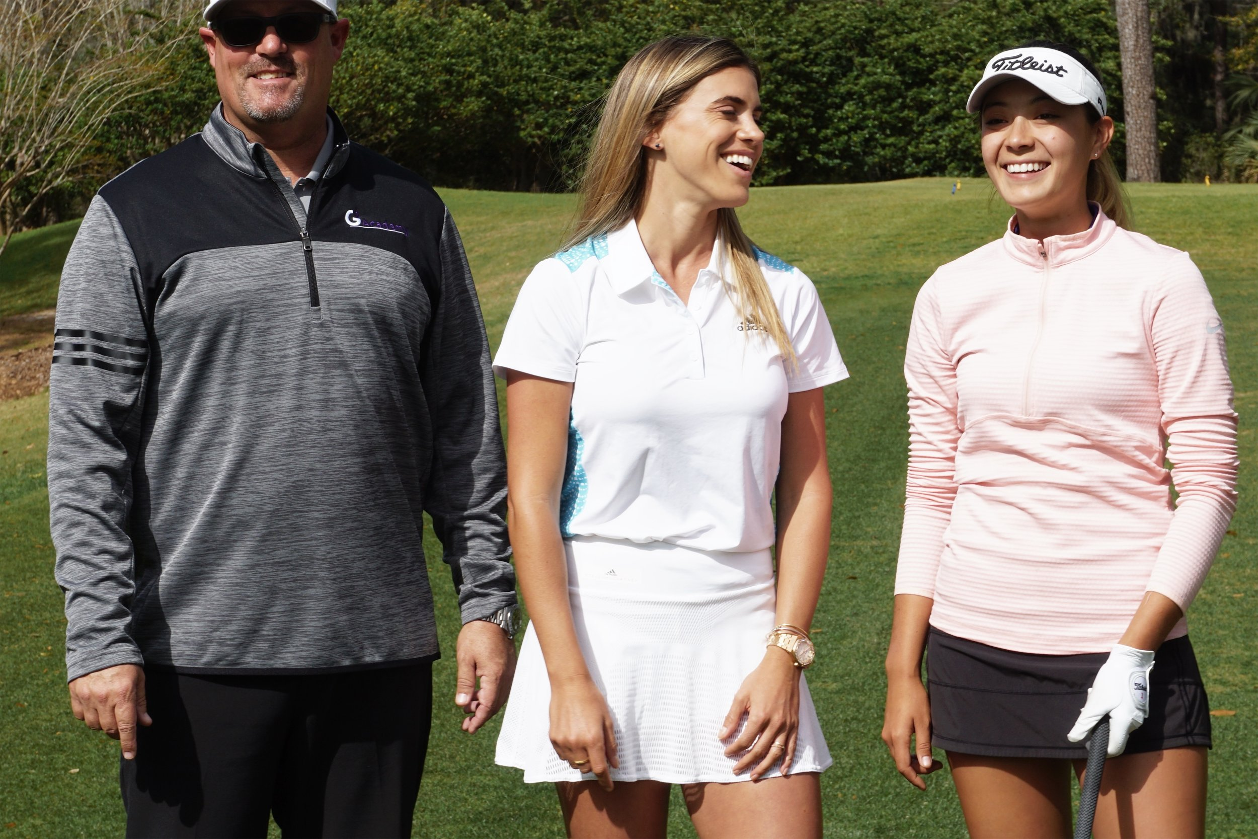 Last month I was able to check out the Academy and their practice facilities. There a future G2 golfer, Mackenzie Gallagher  @kenzieegallagher  and rising start happened to be practicing there with Coach Matt Fields  @mattfieldspga . They were nice enough to let me tag along to ask a few questions and getting to know Mackenzie and what were the things they were working on at the range and on the golf course.