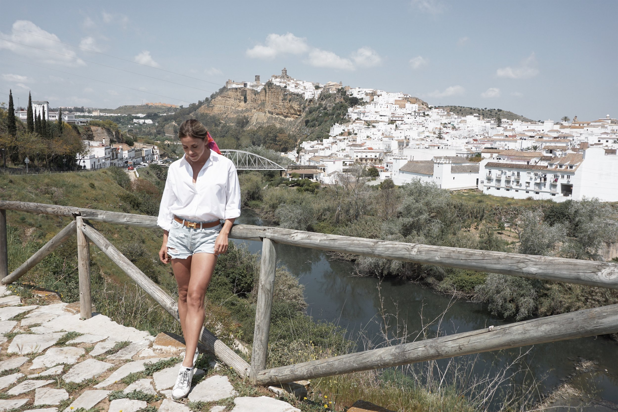 This photo was take at the VIEW POINT area designated to give you the perfect panorama view of Arcos. I will suggest you start here, and then plan your way up.