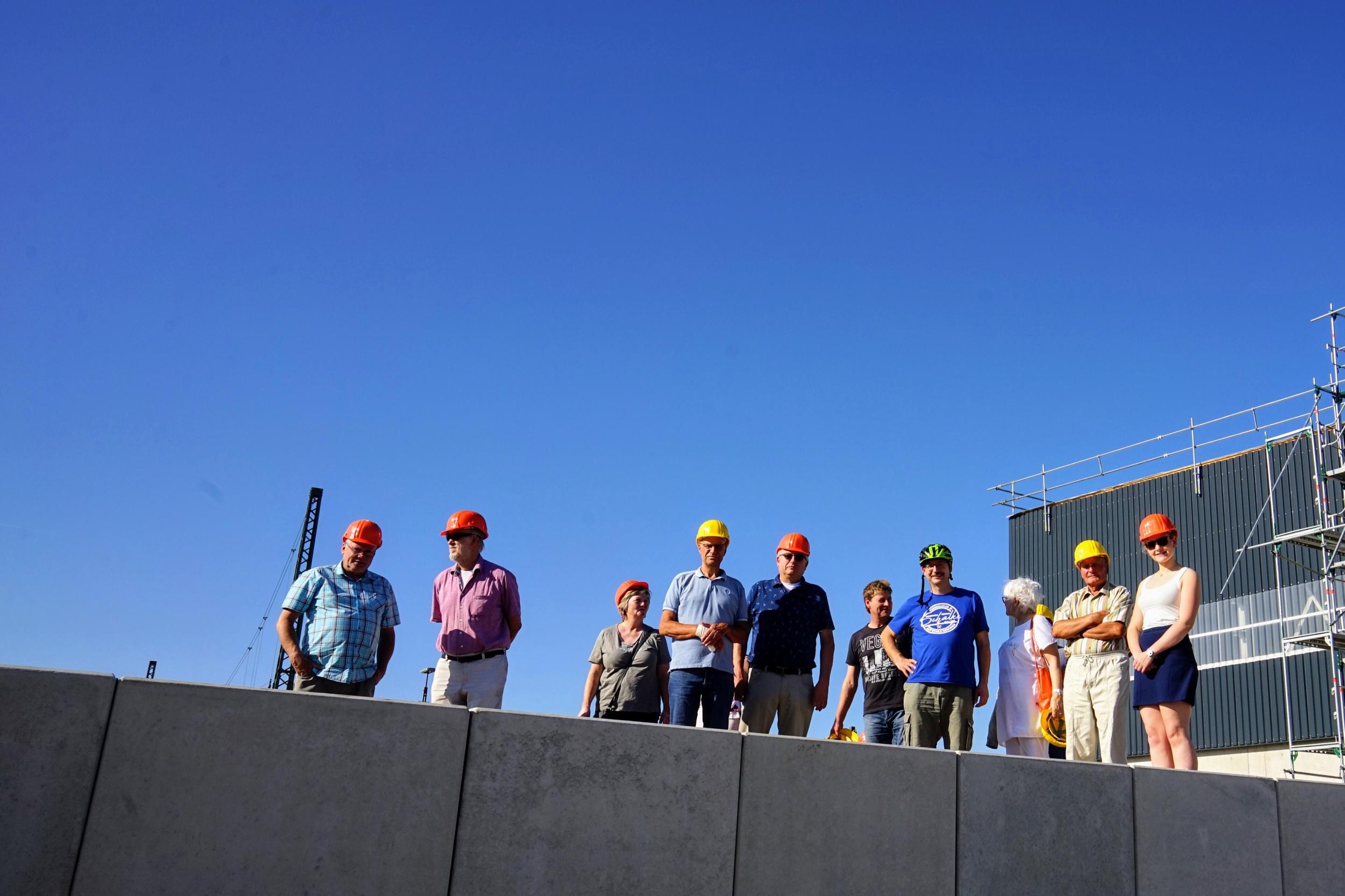 Besichtigung des Baubetriebshofes