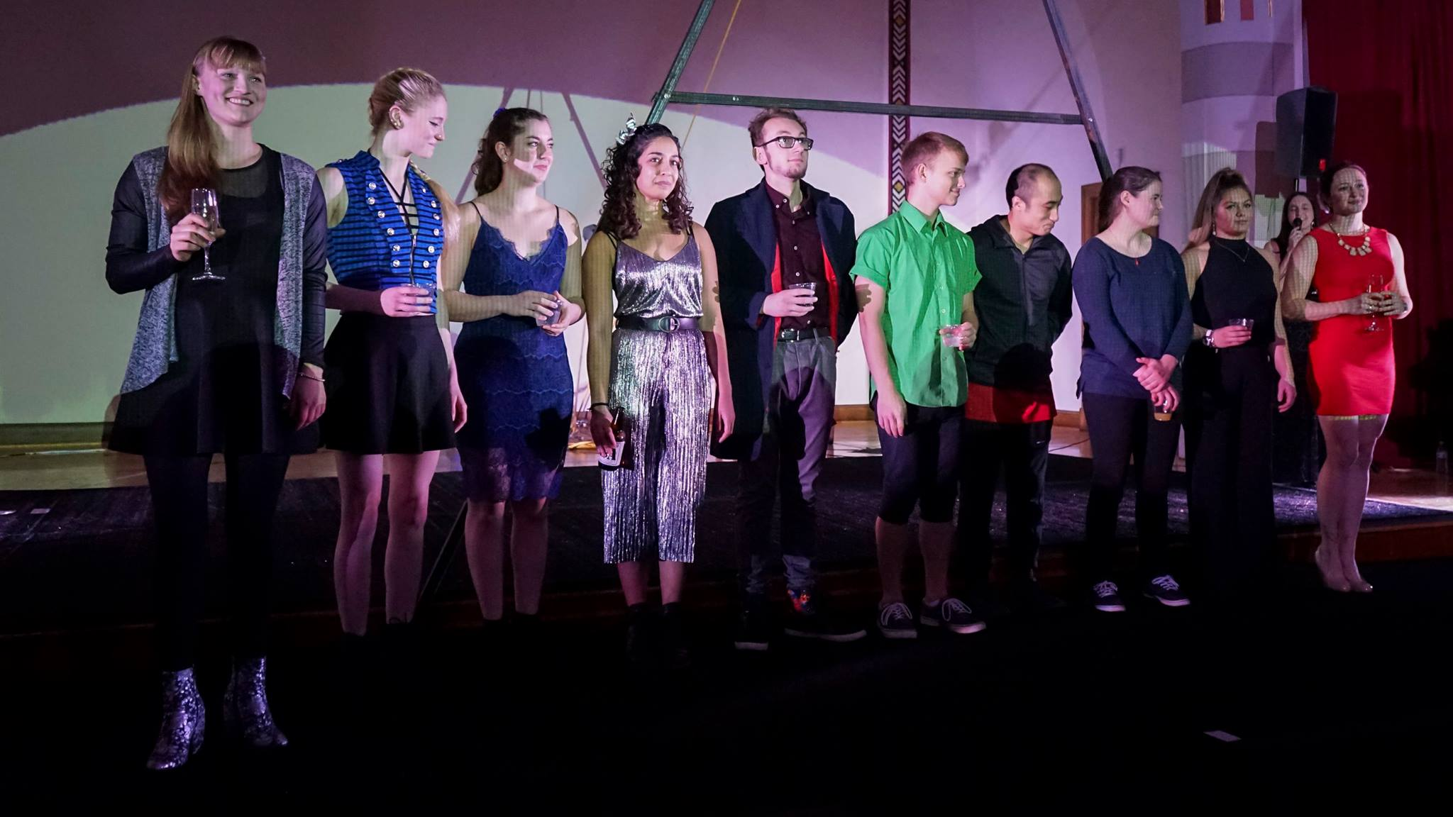 Circadium Class 1: Viola, Luna, Maya, Tara, Stephen, Zak, Cao, Delaney, Celeste, and me!