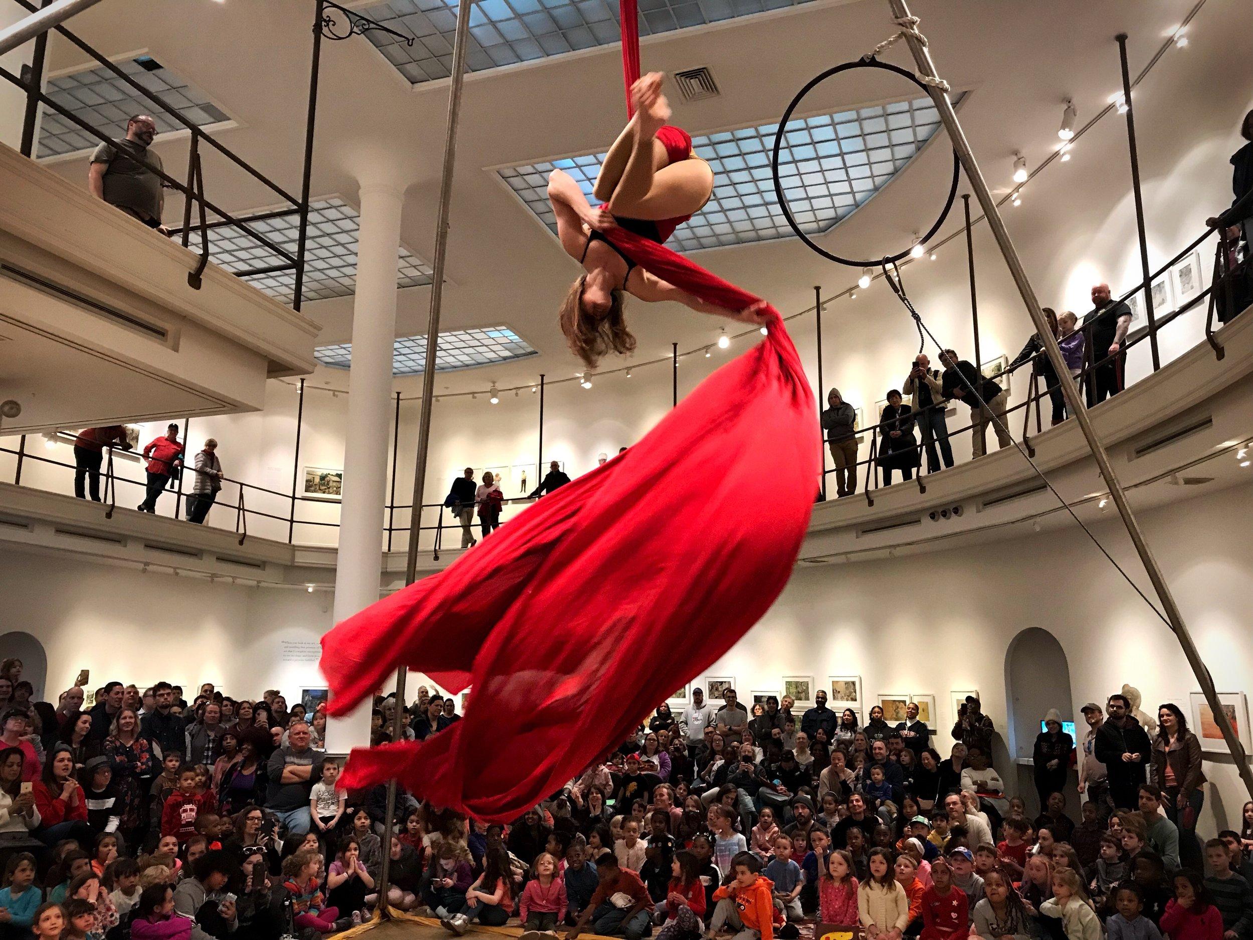 Woodmere Art Museum, Philadelphia PA, March 2019