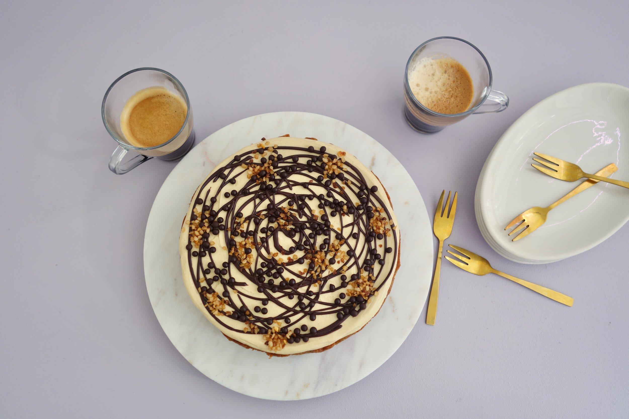 Espresso Dark Chocolate Cake The Caker