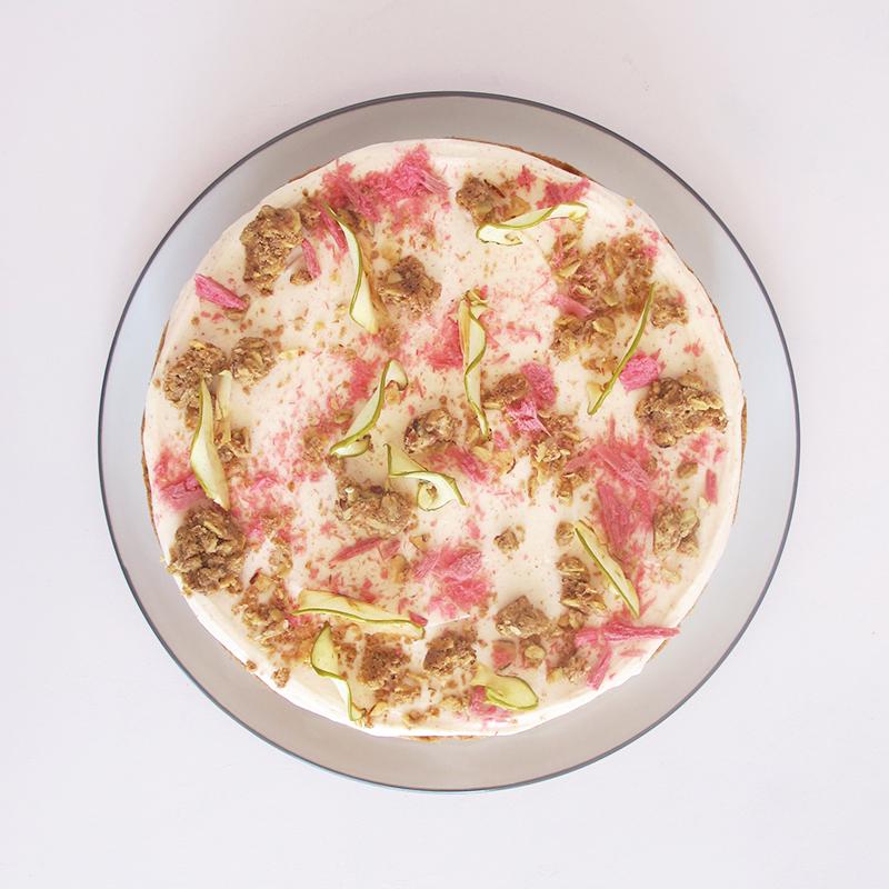 Apple Rhubarb Cake