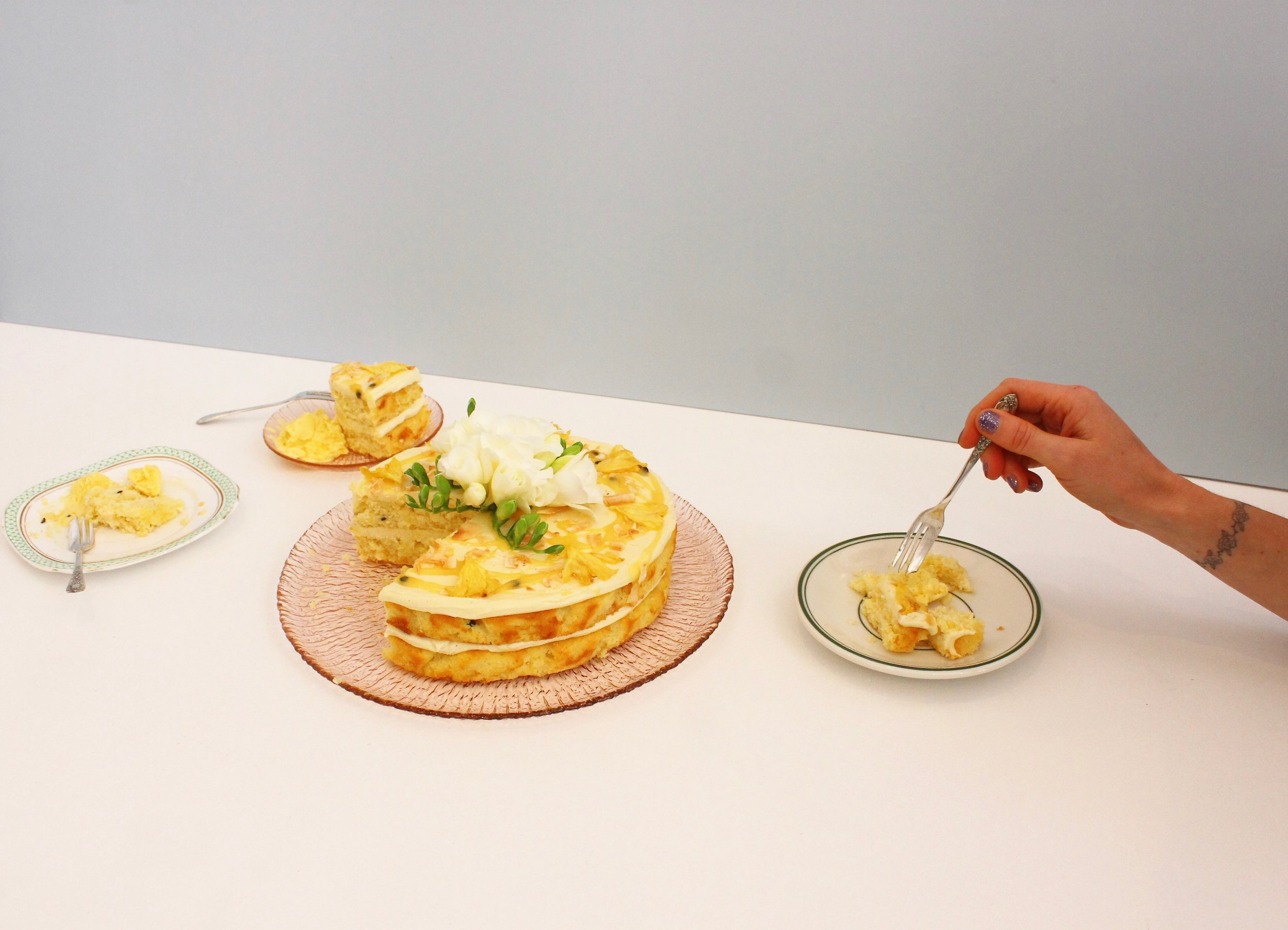 Pineapple Passionfruit Coconut Cake The Caker