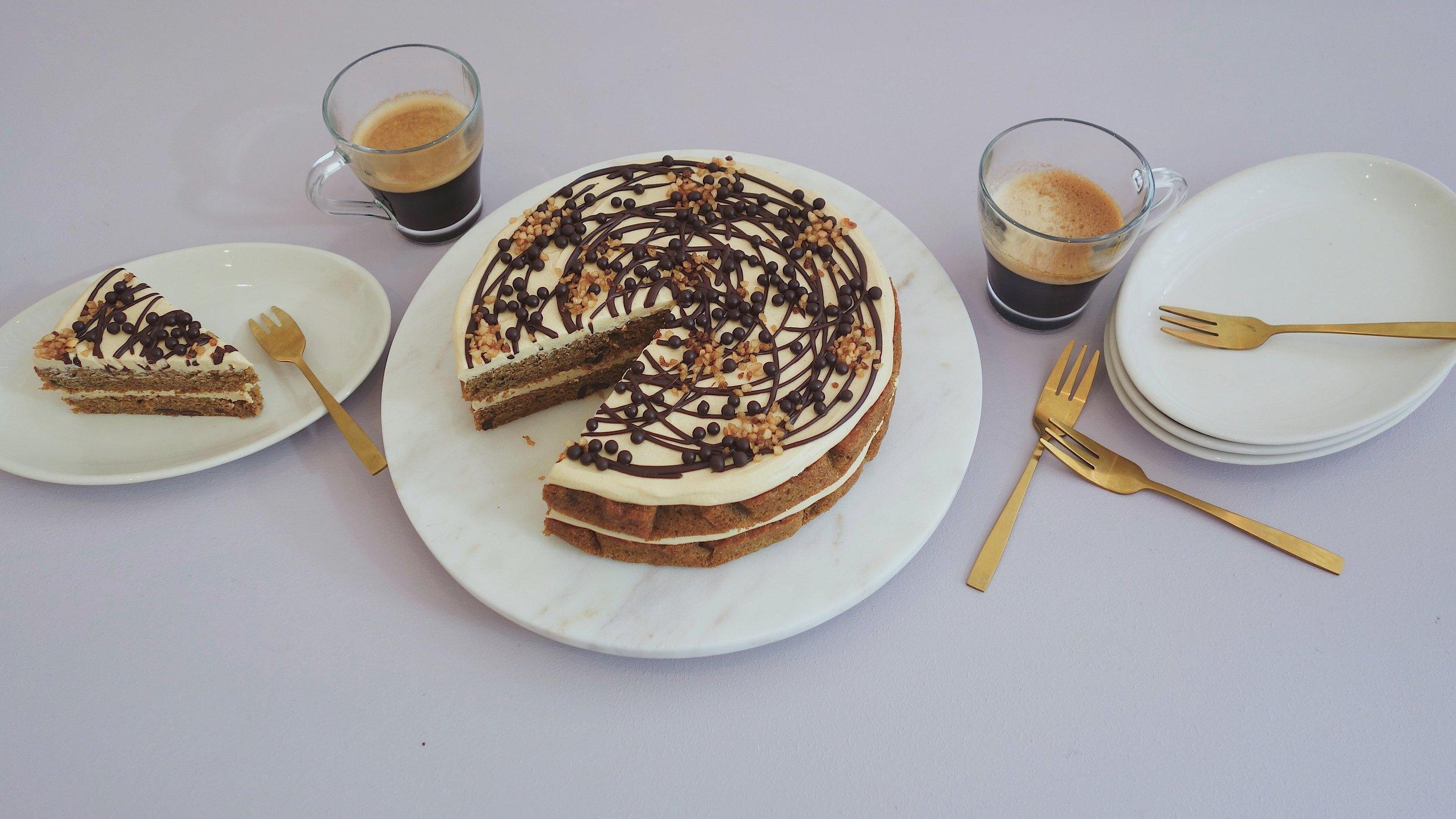 Espresso and Dark Chocolate Cake The Caker