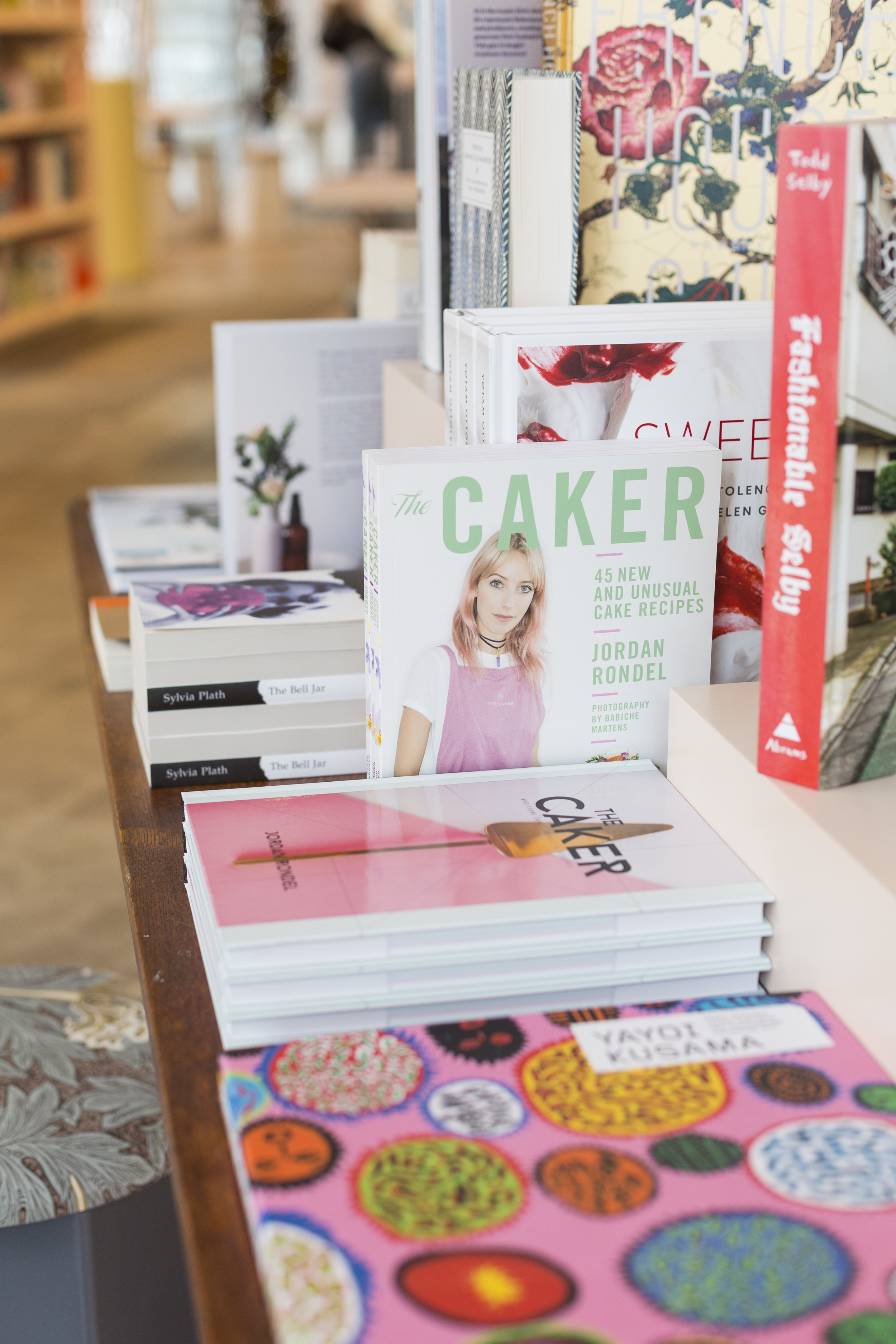 Hedley's Books has hand-picked 100 titles to stock, including both of my recipe books!